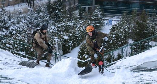 Уборка снега, Казань